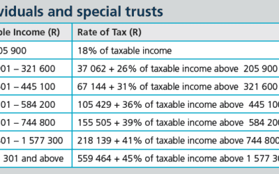 How taxed are South Africans after Budget 2020