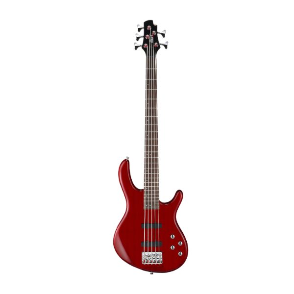 Cort, Action Bass, V Plus, Trans Red, Bass Guitar, 5 String, Active, Cort Near Me, Cort Cape Town