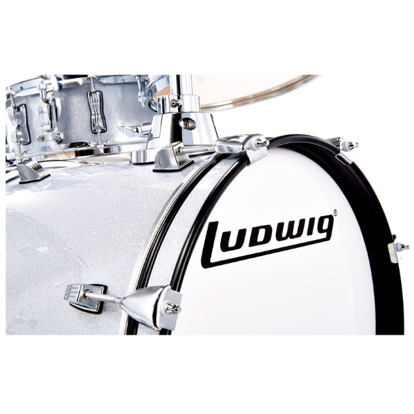 Ludwig, Breakbeats, 4-piece, drum kit, White Sparkle, Ludwig near me, Ludwig Cape Town,