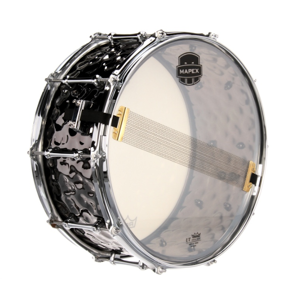 Mapex, Daisy Cutter, 14 x 6.5, Hammered Steel, Snare, mapex near me, Mapex Cape Town,