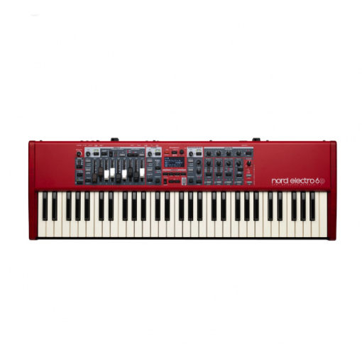 NORD 6D 61, synth, 61 key, pro, stage, church, studio, band, Nord near me, Nord Cape Town