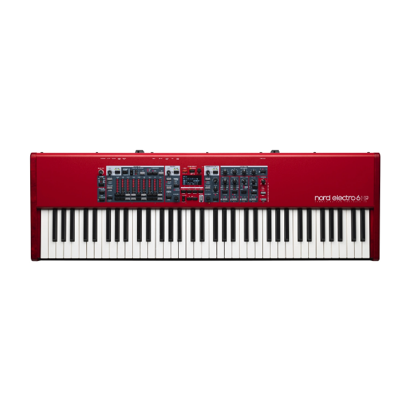 NORD Electro 6 HP 73, stage synth, studio, stage, band, church, Nord near me, Nord Cape Town