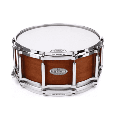 Pearl, Free Floater, Mahogany, Maple, 14 x 6.5, Snare, Pearl near me, Pearl Cape Town,