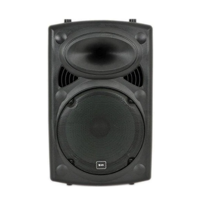 QTX QR12PA, powered, speaker, battery powered, outdoor, camping, auctions, QTX near me, QTX Cape Town