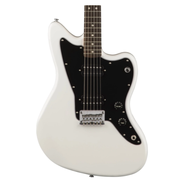Fender, Squier, Affinity, Jazzmaster. HH, Olympic White, Indian Laurel Fretboard, Electric Guitar, Squier Cape Town, Squier Near Me, Squier South Africa