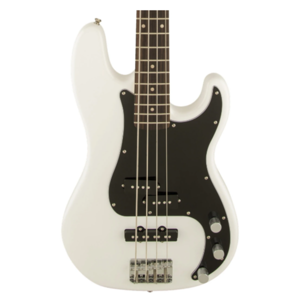 Fender, Squier, Affinity, 4 String, Precision Bass, PJ, Olympic White, Indian Laurel Fingerboard, Bass Cape Town, Bass Near Me, Bass South Africa