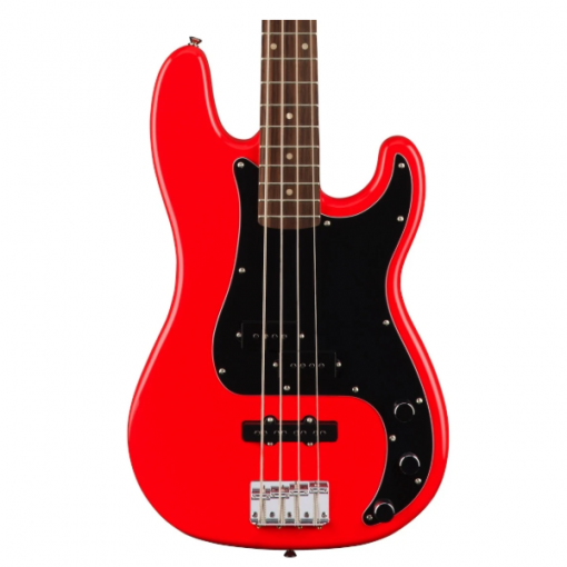 Fender, Squier, Affinity, 4 String, Precision Bass, PJ, Race Red, Indian Laurel Fingerboard, Bass Cape Town, Bass Near Me, Bass South Africa