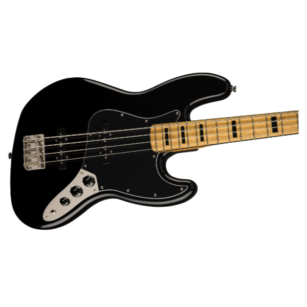 Fender, Squier, Classic Vibe, '70s, Jazz Bass, Black, Maple Neck, 4 String, Squier Near Me, Squier Cape Town, Squier South Africa