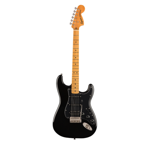 Fender, Squier, Classic Vibe 70's, Stratocaster, Black, Black, Fender Cape Town, Fender near me, Fender South Africa