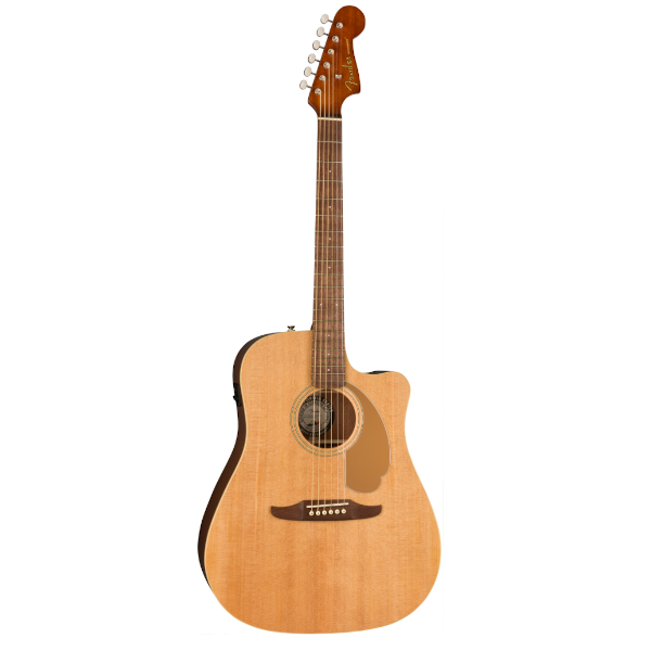 Fender, Redondo Player, Natural, Cutaway, Pickup, Acoustic, Acoustic Electric, steel string, Fender near me, Fender Cape Town,