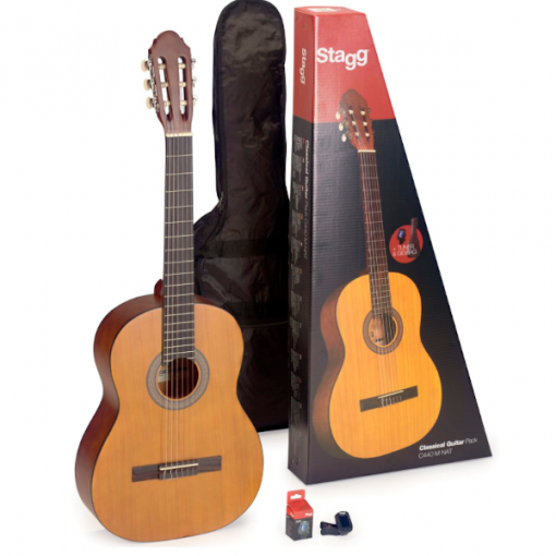 Stagg, Classical guitar, 1/2 size, Guitar pack, Beginner guitar, Nylon string, Stagg near me, Stagg Cape Town