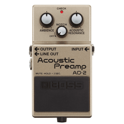 Boss, AD-2, Acoustic Pre-Amp Pedal, Acoustic, Effects Pedal, Boss Near Me, Boss Cape Town,