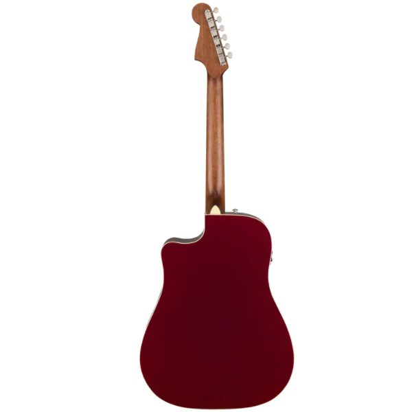 Fender, California, Redondo, Player, Acoustic Electric, Guitar, Candy Apple Red, Fender, Fender Cape Town