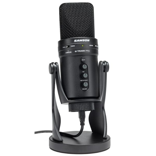 Samson, G-Track Pro, Microphone, USB, Streaming, Recording, Samson Microphones Near Me, Samson Microphone Cape Town,