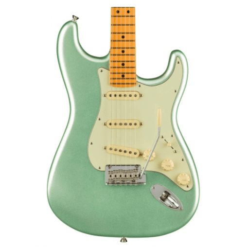 Fender, American, Professional II, Stratocaster, Maple Neck, Mystic Surf Green