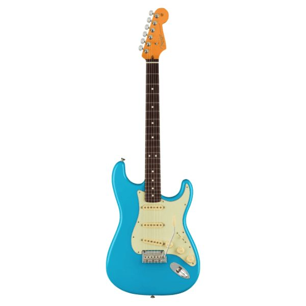 Fender, American, Professional II, Stratocaster, Rosewood Fingerboard, Miami Blue