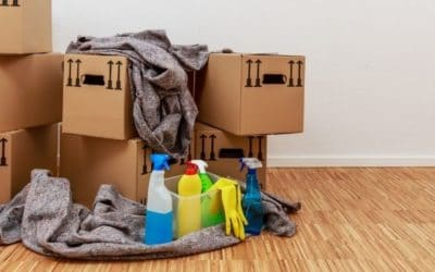 Pre and post professional cleaning take the headaches out of moving!
