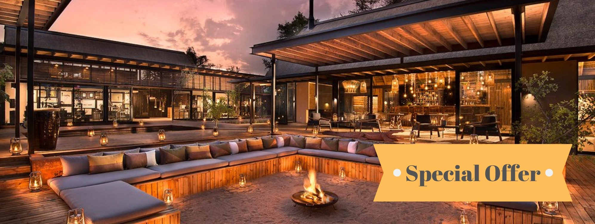 Special Offers Lion Sands River Lodge