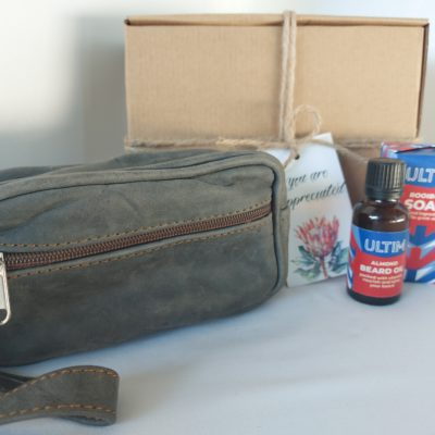 Leather and Face Hamper