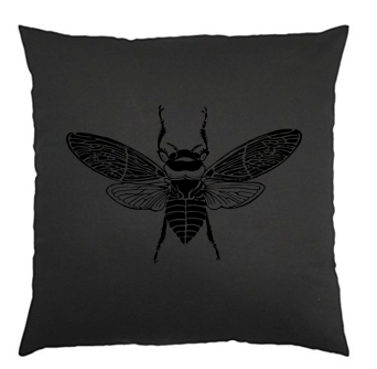 Black Bee Scatter Cushion