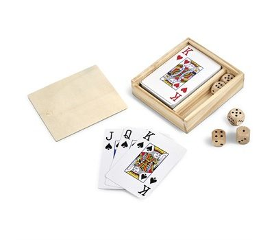 Card and dice games set