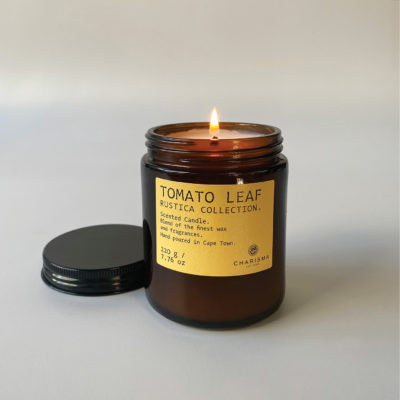 Rustica Tomato Leaf Luxury Scented Candle – 220g