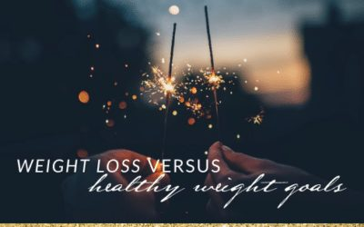 Weight Loss versus Healthy Weight: What is the Difference?